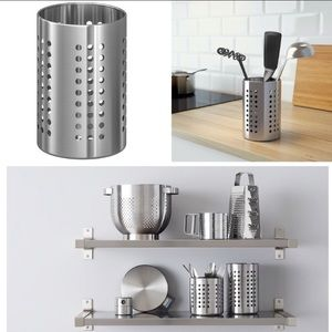 IKEA Stainless Steel Utensil Holder organizer